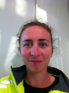 Tired, sunburnt, happy rower