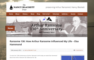 2014-01-24 16_22_46-Ransome 130_ How Arthur Ransome Influenced My Life – Elsa Hammond - Swallows and