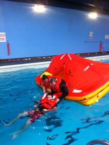 Getting an unconscious person out of the water